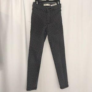 Zara Polka Dot Jeans Size 7